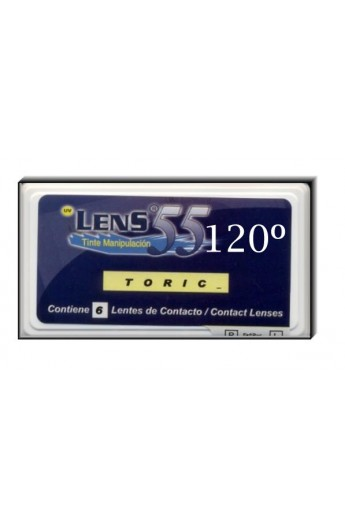 LENS 55 TR 6 PACK R/8.70 120ºCIL