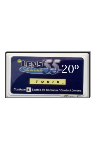 LENS 55 TR 6 PACK R/8.70 020ºCIL